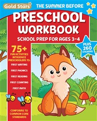 The Summer Before Preschool Workbook School Prep for Ages 3 - 4