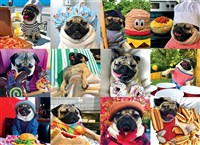 Doug the Pug Pug Life 1000-Piece Puzzle