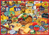 Cheese & Crackers 1000-Piece Puzzle