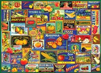 Fruits & Veggies 1000-Piece Puzzle