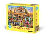 The Surf Cat Grill 1000-Piece Puzzle