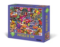 Patches of Fun 1000-Piece Puzzle