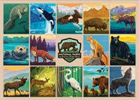 National Parks Wildlife by Anderson Design Group 1000-Piece Puzzle