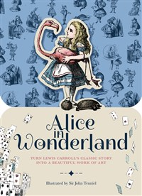 Paperscapes: Alice in Wonderland