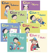 All About Clive Board book Set of 8
