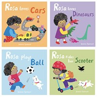 All About Rosa Board book Set of 4