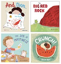 Sharing, Caring and Friendship Book Set of 4