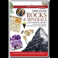 Wonders of Learning Stem Educational Tin Set – Rocks & Minerals