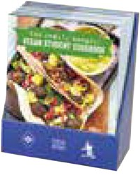 6-Copy Counterpack The Really Hungry Vegan Student Cookbook