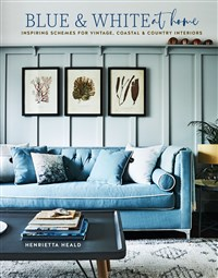 Blue & White At Home
