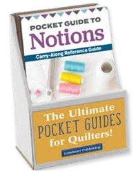 6-Copy Display Pack: Pocket Guide to Notions
