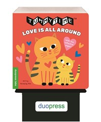 6-copy counter display TummyTime®: Love Is All Around