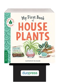 6-Copy Counter Display My First Book of Houseplants