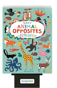 6-Copy Counter Display My Book of Animal Opposites