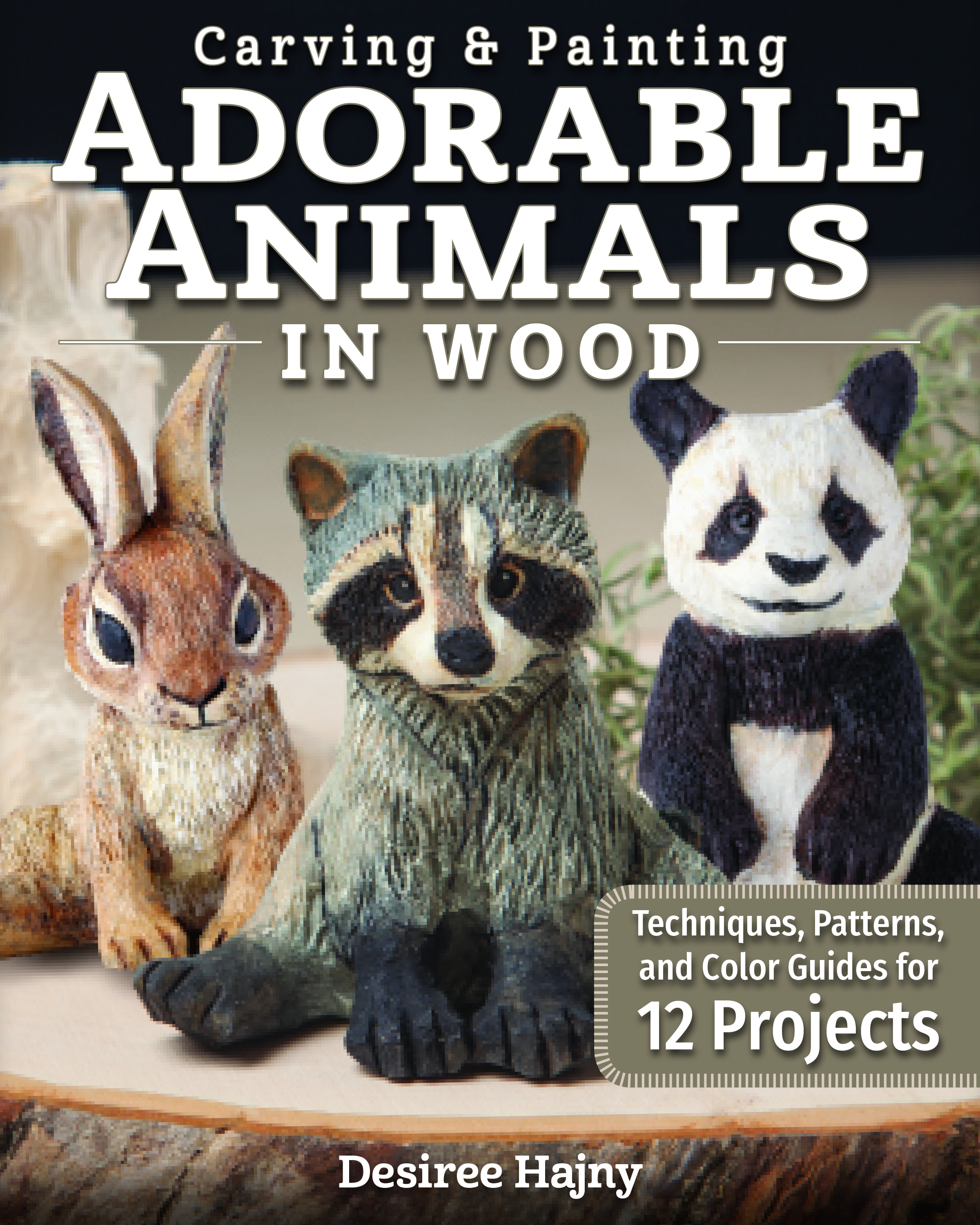 Carving & Painting Adorable Animals in Wood