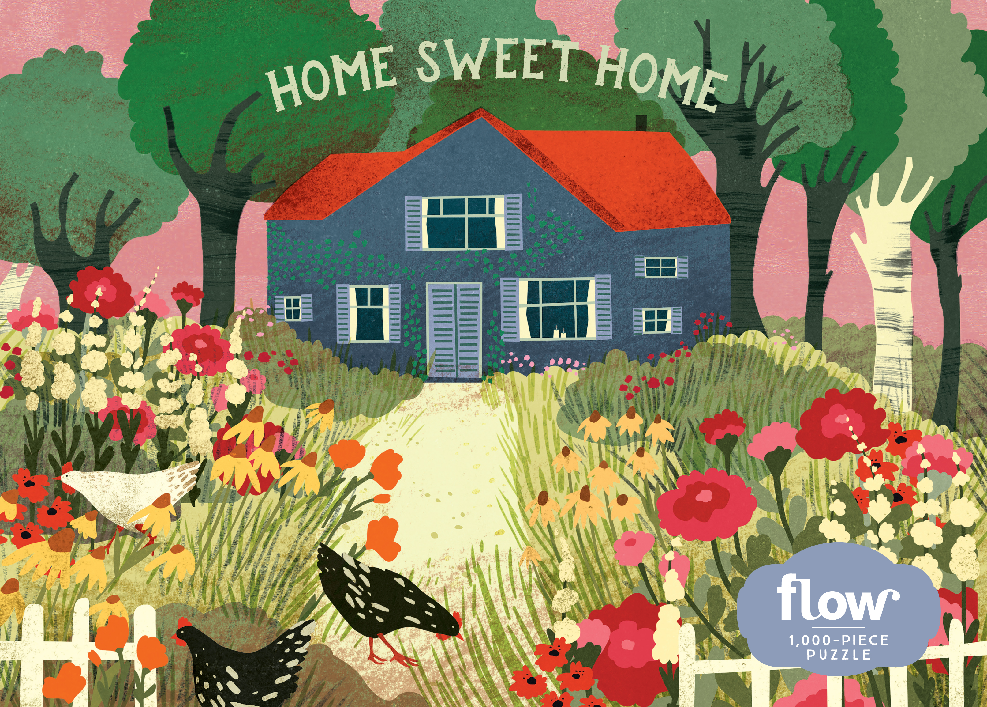 Home Sweet Home 1,000-Piece Puzzle