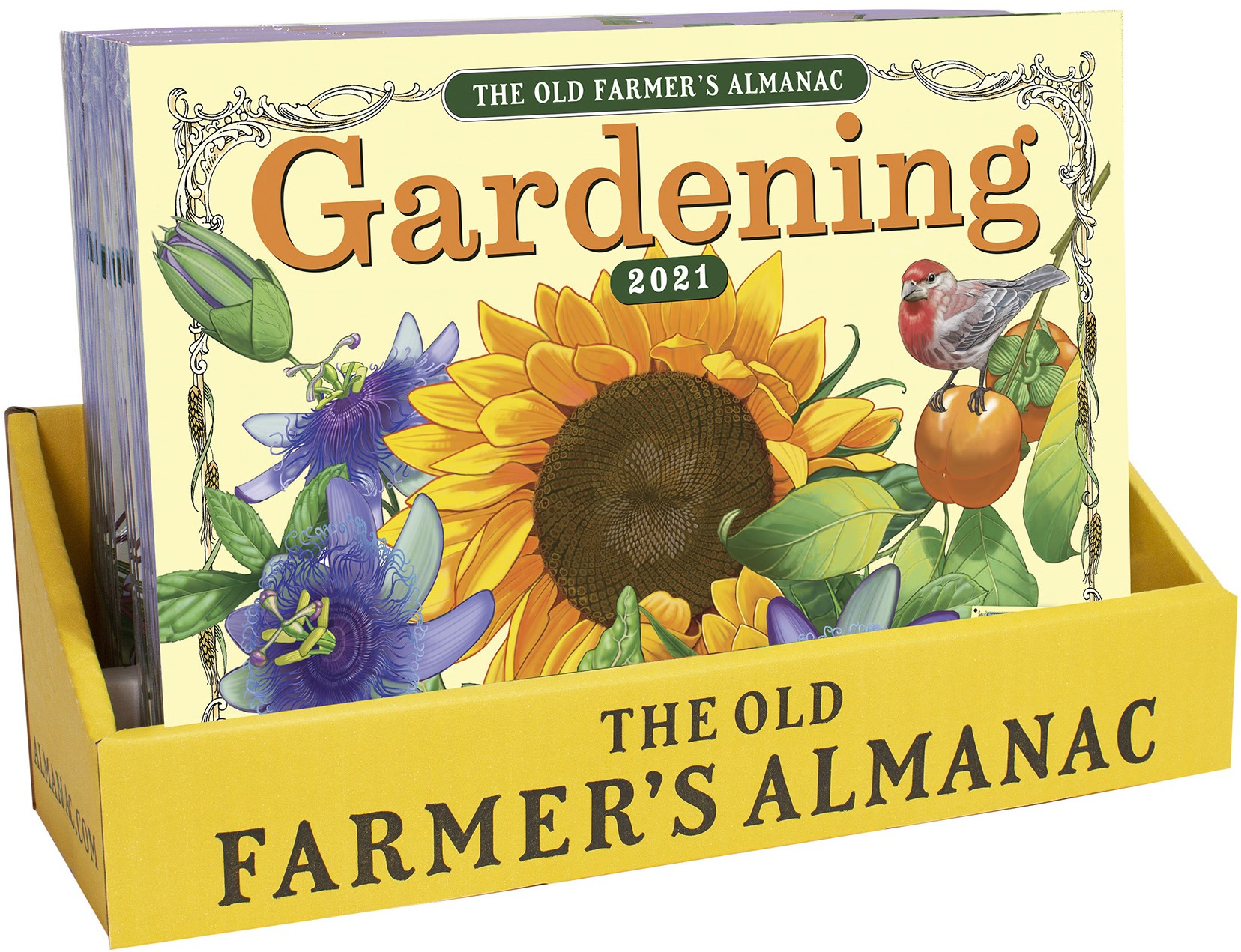 Counter Display, 20 2021 Gardening Calendars