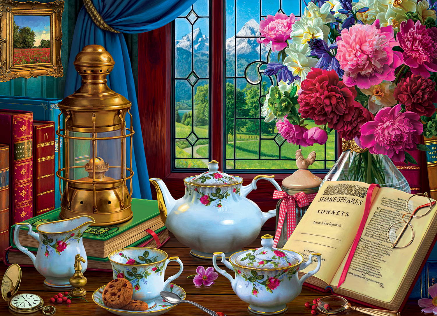 Tea Set 1000-Piece Puzzle