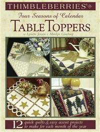 Thimbleberries® Four Seasons of Calendar Table Toppers