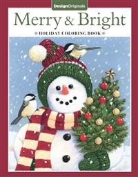 Merry & Bright Holiday Coloring Book