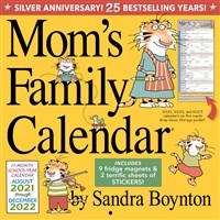 Mom's Family Wall Calendar 2022