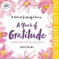 A Year of Gratitude Page-A-Day Calendar 2022