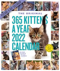 365 Kittens-A-Year Picture-A-Day Wall Calendar 2022