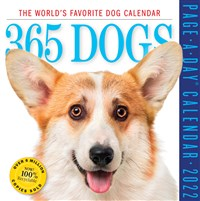 365 Dogs Page-A-Day Calendar 2022
