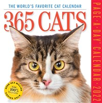 365 Cats Page-A-Day Calendar 2022