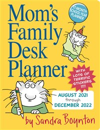 Mom's Family Desk Planner 2022