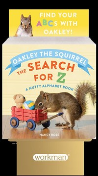 6-copy counter display Oakley the Squirrel: The Search for Z