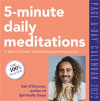 5-Minute Daily Meditations Page-A-Day Calendar 2022