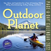 Outdoor Planet Page-a-Day Calendar 2022
