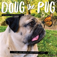 Doug the Pug 2022 Wall Calendar