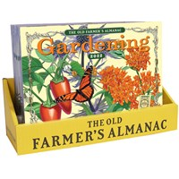 20 Copy Old Farmer's Almanac 2022 Gardening Calendar Counter Display