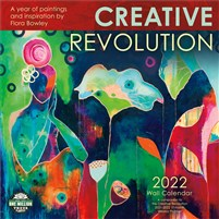 Creative Revolution 2022 Wall Calendar: A Year of Paintings and Inspiration