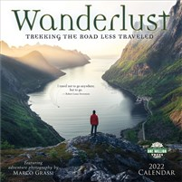 Wanderlust 2022 Wall Calendar: Trekking the Road Less Traveled - Featuring Adventure Photography by Marco Grassi