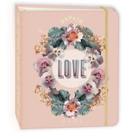 "PAPAYA 2022 Hardcover Deluxe Planner (7.5"" x 9"" closed): Love"