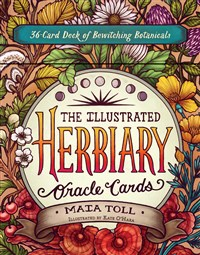 The Illustrated Herbiary Oracle Cards