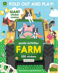 Farm: 500 Stickers and Puzzle Activities