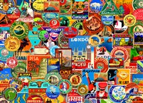 World of Travel 1000-Piece Puzzle