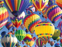 Balloon Ride 500-Piece Puzzle