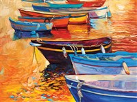 Boats in a Row 500-Piece Puzzle