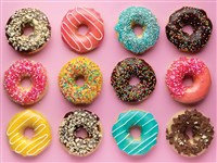 Craving Donuts 500-Piece Puzzle