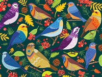 Feathered Friends 500-Piece Puzzle