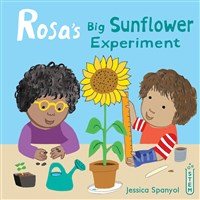 Rosa's Big Sunflower Experiment