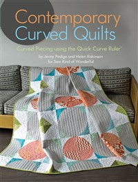 Contemporary Curved Quilts
