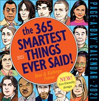 365 Smartest Things Ever Said! Page-A-Day Calendar 2021