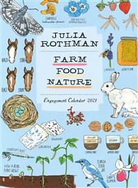 Julia Rothman: Farm, Food, Nature Engagement Calendar 2021