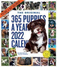 365 Puppies-A-Year Picture-A-Day Wall Calendar 2022